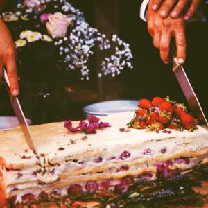 gateau de mariage fraisier traiteur participatif
